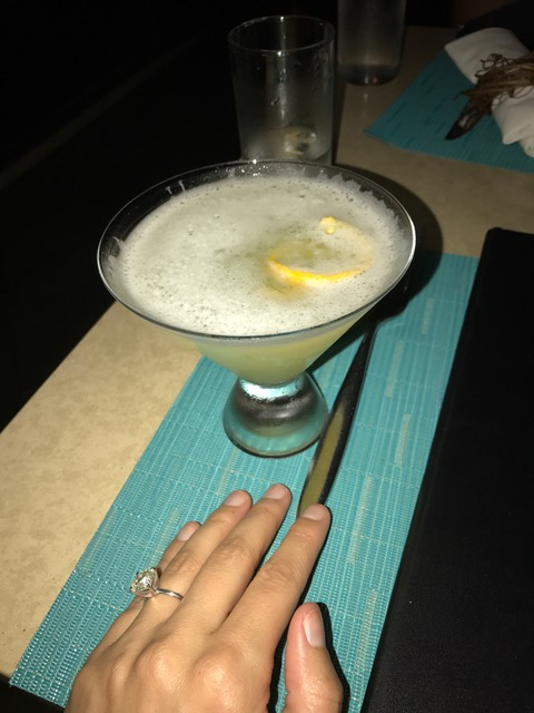 pineapple-martini