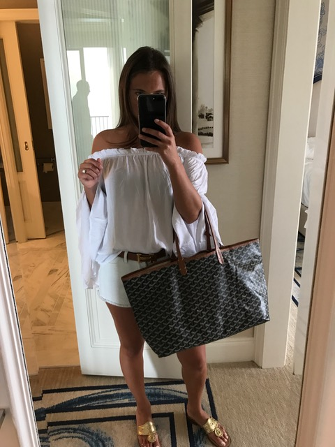 Boat show outfit