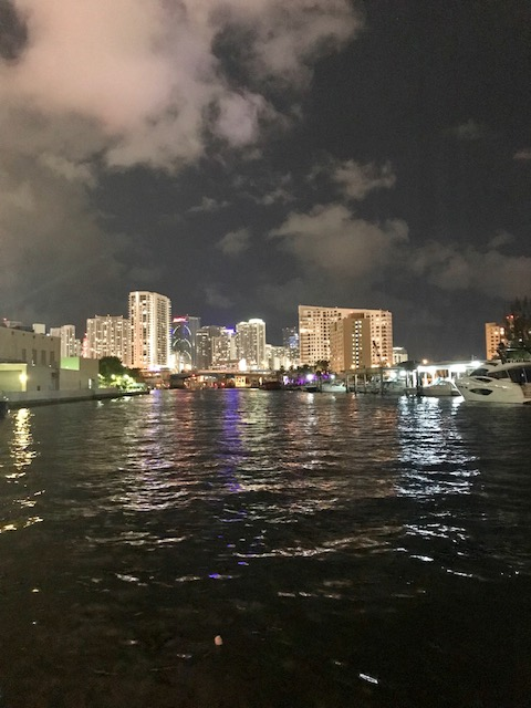 Downtown Miami from the water