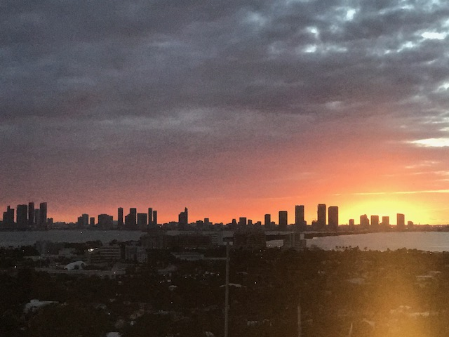 Sunset Miami