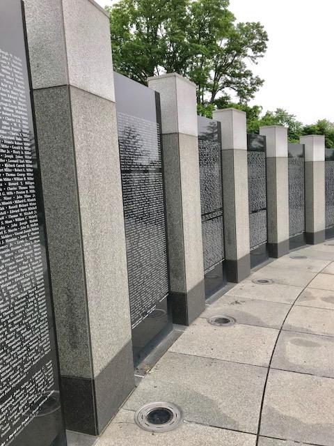 Memorial Day Weekend WWII Memorial